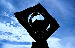 University of the Andes (Venezuela) - Famous sculpture at Universidad de Los Andes
