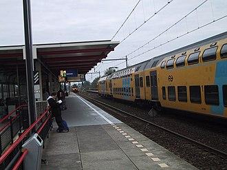 Almere Muziekwijk railway station - Image: Almere muziekwijk