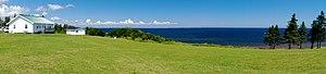 Pugwash, Nova Scotia - The Northumberland Strait from the Gulf Shore Rd in the Pugwash area.