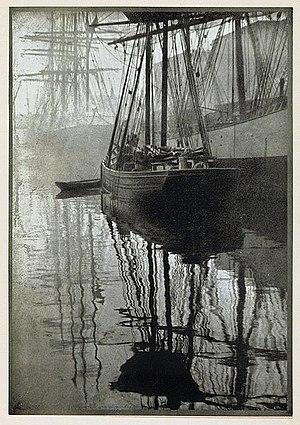 "Alvin Langdon Coburn - ""Spider-webs"", by Alvin Langdon Coburn. Photogravure published in Camera Work, No 21, 1908"