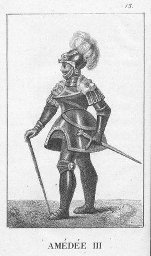 Amadeus III, Count of Savoy - Image: Amadeus 3