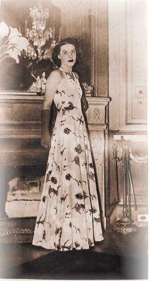 María Amalia Lacroze de Fortabat - Image: Amalita 1939