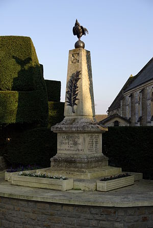 Amayé-sur-Orne - The War Memorial