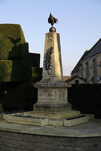 Amayé-sur-Orne - The War Memorial