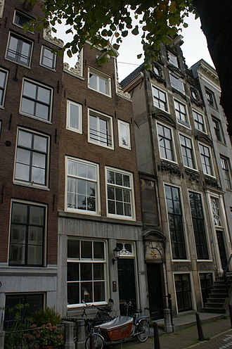 Pieter Codde - Keizersgracht 385, the house he bought in 1657.