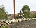 An effigy of Buddha in the monastery garden - geograph.org.uk - 742084.jpg