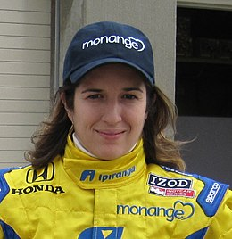 Ana Beatriz 2010 Indy 500 Practice Day 7.JPG