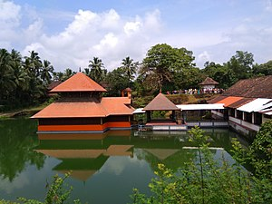 Ananthapura Lake Temple - Image: Anantapura Lake Temple