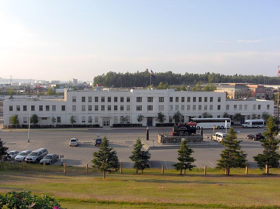 Anchorage RR depot