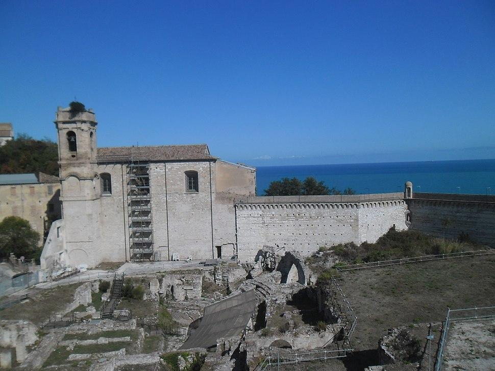 Ancona u rujnu 2017