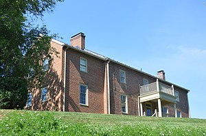 National Register of Historic Places listings in Botetourt County, Virginia - Image: Anderson House closeup from Lee Lane