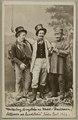 Andersson, Pettersson och Lundström, Södra teatern 1865. Rollporträtt - SMV - H4 079.tif