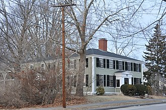 National Register of Historic Places listings in Andover, Massachusetts - Image: Andover MA Abbot Tavern