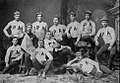 Andover football team in 1883 posing for group photo in Phillipian.jpg
