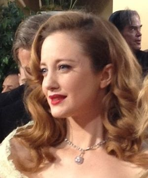 Andrea Riseborough - Riseborough at the 69th Annual Golden Globes Awards in 2012