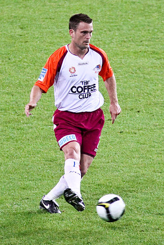 Andrew Packer - Packer playing for Queensland Roar in 2008
