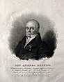 Andrija Mosetig. Lithograph by P. Bertotti after G. Cornient Wellcome V0004145.jpg