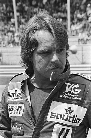 Keke Rosberg - Rosberg at the 1982 Dutch Grand Prix