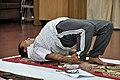 Anil Shrikrishna Manekar - Setubandhasana - International Day of Yoga Celebration - NCSM - Kolkata 2015-06-21 7399.JPG