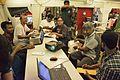 Anish Deb at Wikipedia Booth - Apeejay Bangla Sahitya Utsav - Kolkata 2015-10-10 5396.JPG