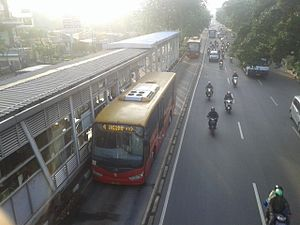TransJakarta - Transjakarta Ankai HFF6120D17D Weichai CNG Euro III bus with body from New Armada Caroserie