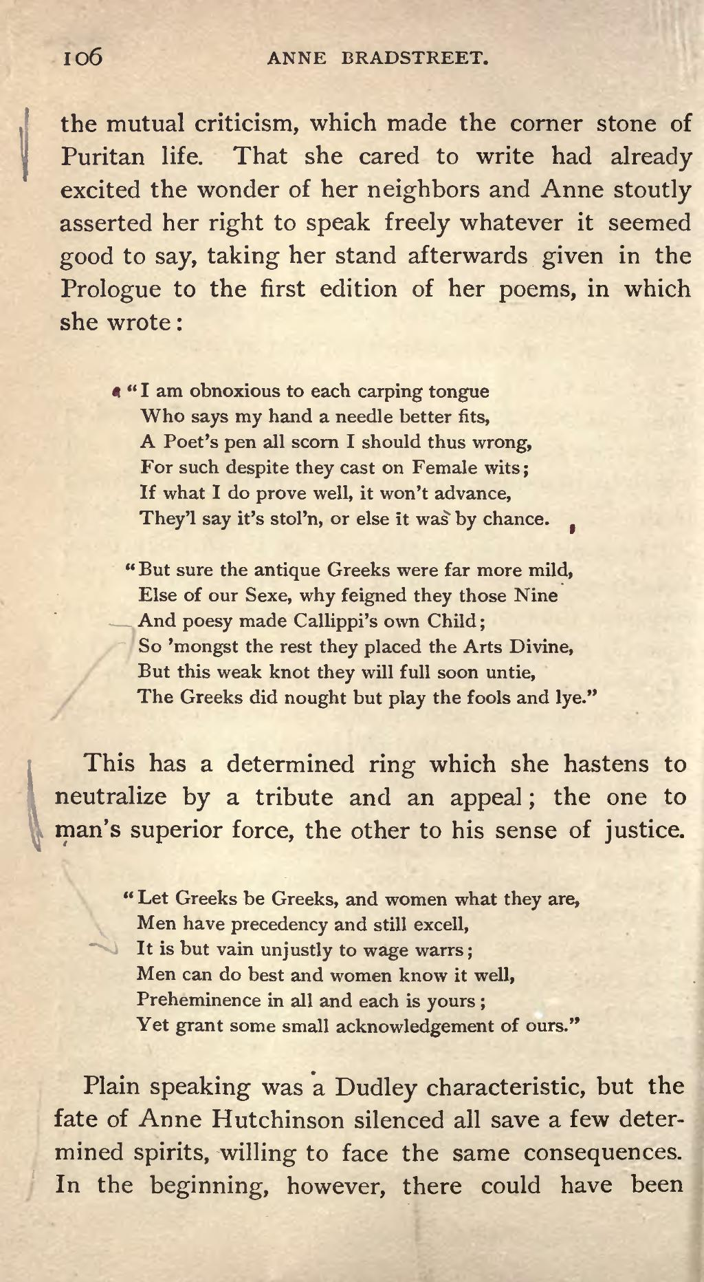 Page:Anne Bradstreet and her time djvu/122 - Wikisource, the