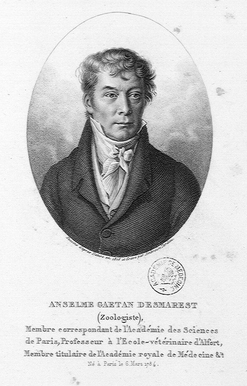 Anselme Gaetan Desmarest 1784-1838