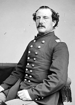 Anthony Allaire - Allaire while serving with the 133rd New York Volunteer Infantry Regiment.