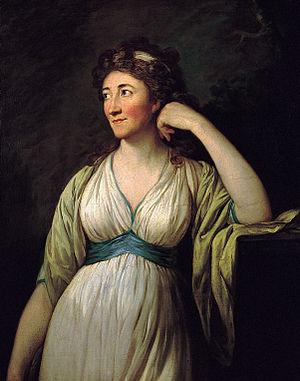 1797 in art - Image: Anton Graff Bildnis Elisa von der Recke 1797
