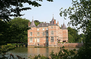 Stéphanie, Hereditary Grand Duchess of Luxembourg - Anvaing Castle, the Lannoy family estate