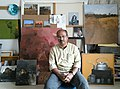 Anwar husain with his works2.jpg