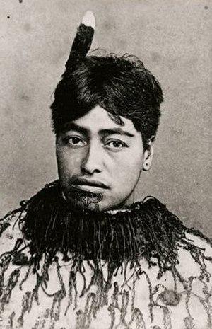 Tāwhiao - Image: Aotea, third wife of Tawhiao
