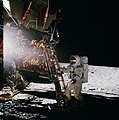 Apollo 12 Al Bean stepping on moon.jpg