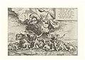 Apollo and Artemis Killing Niobe's Children 1557 print by Giulio Romano, S.IV 2957, Prints Department, Royal Library of Belgium.jpg