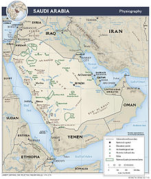 Geography of Saudi Arabia - Wikipedia