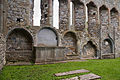 Ardfert Friary Choir South Wall Tomb Niches 2012 09 11.jpg