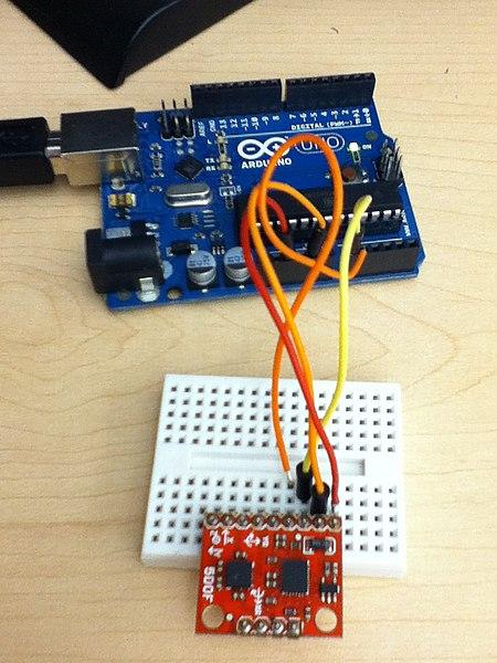 File arduino uno with dof sensor and breadboard rewired