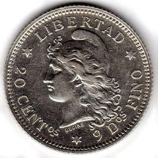 Argentina 20 centavos 1883 (1)