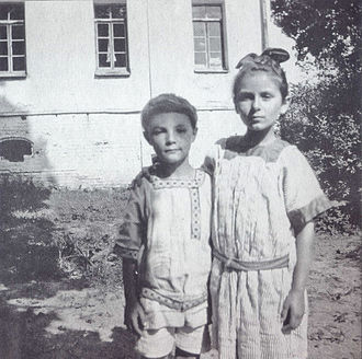 Alexander Scriabin - Julian Scriabin and Ariadna Scriabina, 1913