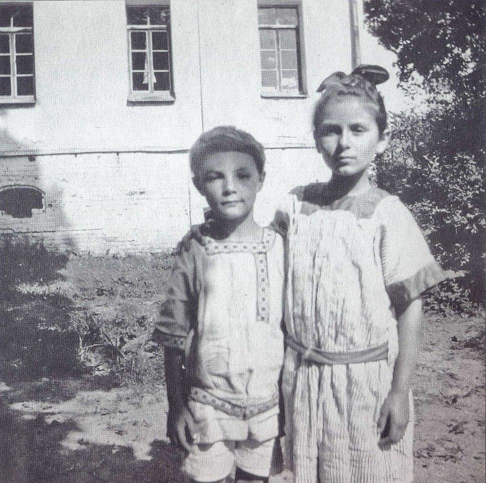Ariadna Scriabina and Julian Scriabin 2