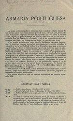 Anselmo Braamcamp Freire: Armaria portuguesa
