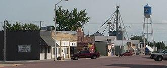 Armour, South Dakota - Downtown Armour: Main Street