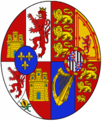 Arms of Queen Victoria Eugenie of Spain.png