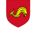 Arms of the family James, Barons Northbourne.png