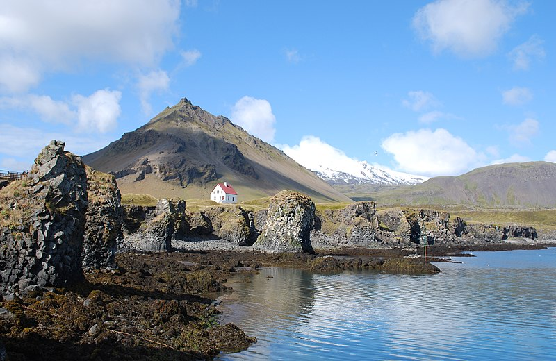 liffs near Arnarstapi village, Iceland. From Iceland's Rich Writing Traditions Influence the World - and Travel