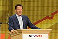 Arnold Schwarzenegger speaks at New Way California Press event in Los Angeles (40917748762).jpg