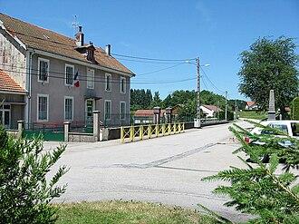 Arrentès-de-Corcieux - Image: Arrentès de Corcieux mairie