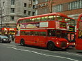 Arriva London Routemaster bus RML2636 (NML 636E), route 137, Oxford Street, 24 December 2003.jpg