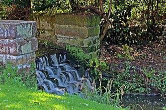 Arrowe Park - Image: Arrowe Brook, Arrowe Park (geograph 2949706)