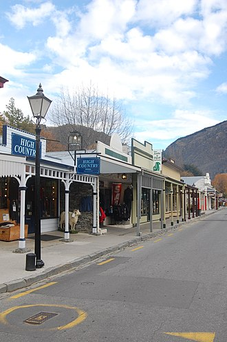 Otago - Arrowtown, a historic mining town